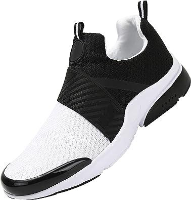 Mishansha Zapatillas de Running para Hombre Mujer Transpirables Zapatos Casuales Comodos Ligero Low Top Sneakers Unisexo: Amazon.es: Zapatos y complementos