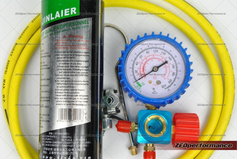 Kit de recarga de gas refrigerante R600A en recipientes para ...