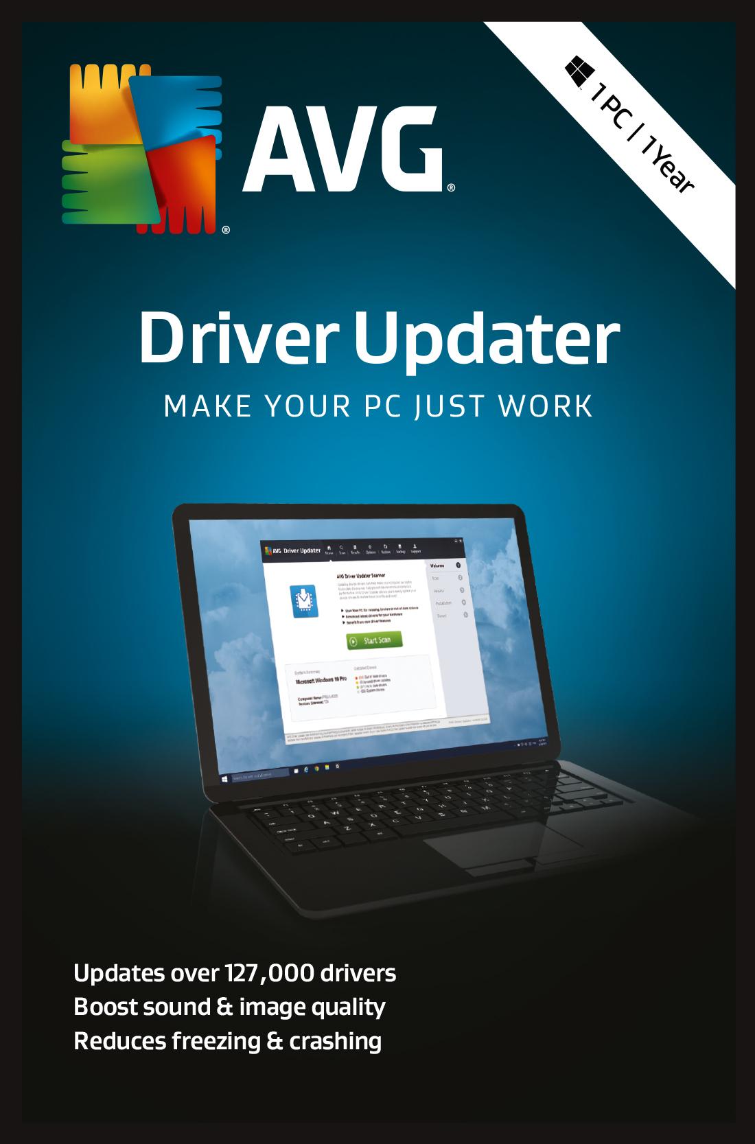 avg driver updater registration key list