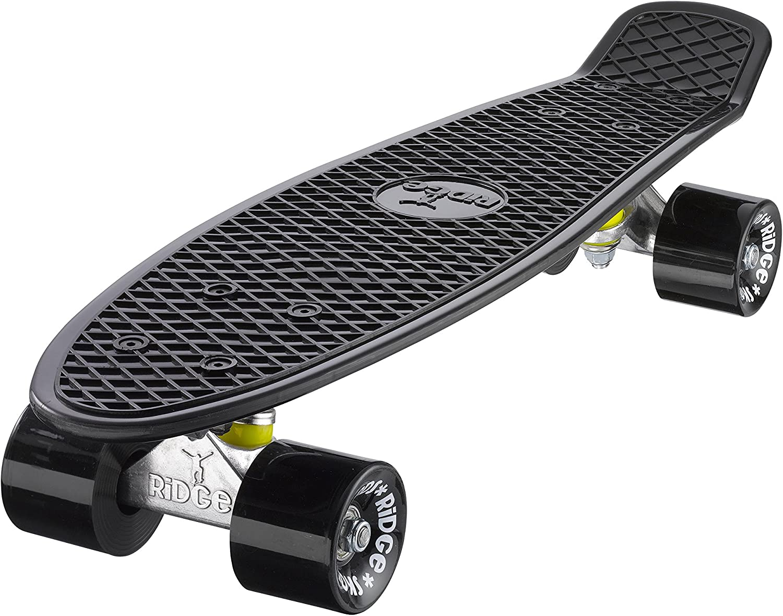 Ridge Skateboard 55 Cm Mini Cruiser Retro Stil in M Rollen Komplett U Fertig Montiert kaufen