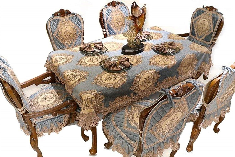 家の装飾布カバー テーブルクロスヨーロピアンスタイルのテーブルクロスシェニール長方形のテーブルクロス贅沢なテーブルクロス快適な テーブルクロス   B07QNKSZ4K