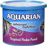 API AQUARIAN Complete Nutrition, Aquarium Tropical Fish Food Flakes, 200g Container