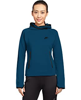 Femme Fleece Sweat Nike Capuche Avec Pour Shirt Logo À Amazon Tech w6qxxR10H
