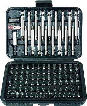 KS Tools 911.2027 Pack de 99 Piezas con Juego de bits de Seguridad (tamaño: 1/4