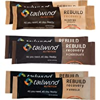 Tailwind Grab-and-Go Rebuild Recovery Single Serve Assortment (2 Chocolate-2 Vanilla-2 Coffee) with Complete Protein…