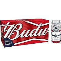 Budweiser Beer, 18 x 440 ml