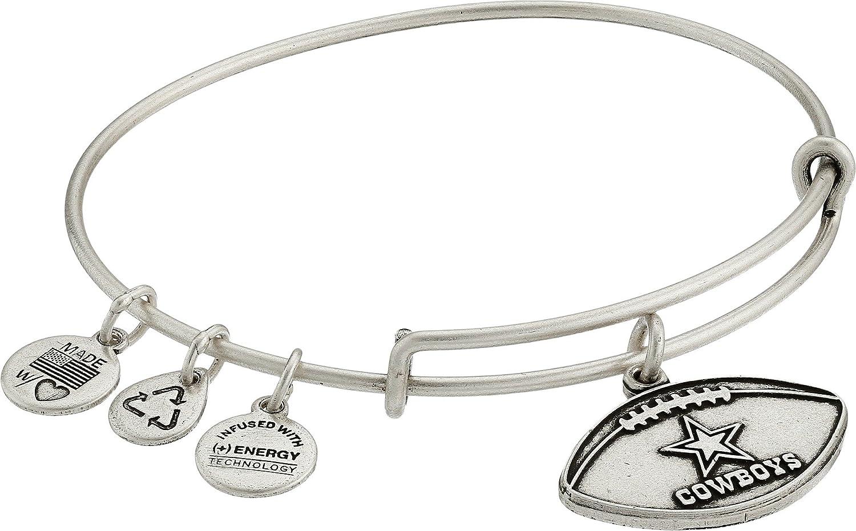Alex and Ani Dallas Cowboys Football Expandable Bangle Bracelet