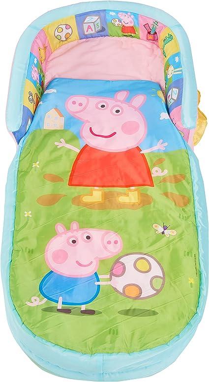 ReadyBed-Cama Peppa Pig-Mi primer poliéster,., multicolor, 130x 61x 23cm