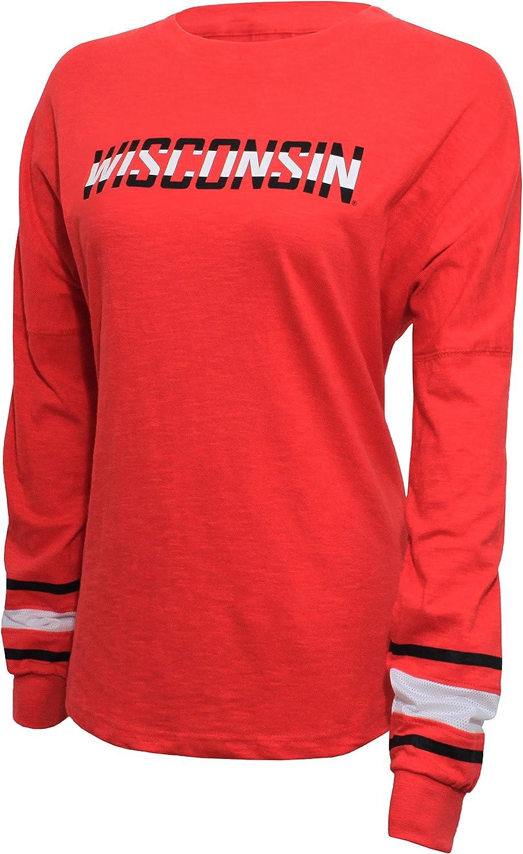 NCAA Alabama Crimson Tide Womens Campus Specialties Long Sleeve Fan Tee