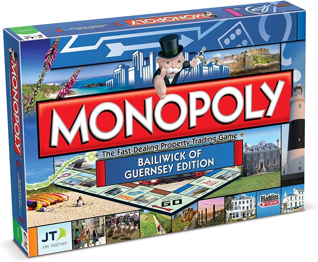 Monopoly - Vagón para modelismo ferroviario, de 2 a 6 Jugadores (Winning Moves 21210) (versión en inglés): Amazon.es: Juguetes y juegos