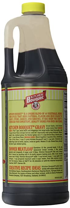 Kitchen Bouquet Browning Seasoning Sauce 32 Oz