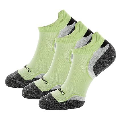 Weekend Peninsula 3 Pares Calcetines Deporte Running Hombres Mujer Unisexo de Deportivos Antiampollas Coolmax Cortos de
