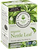 Traditional Medicinals Tea Org Nettle Leaf, 16-Count Boxes (Pack of 3)