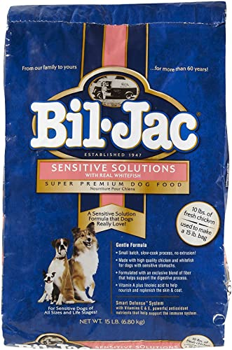 Bil-Jac 319083 Sensitive Solutions Dry Dog Food