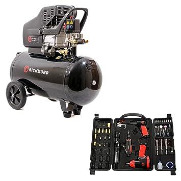 Compresseur d air de 50 litres - 9,6 pi3   min  Amazon.fr  Jardin 254199e7c924