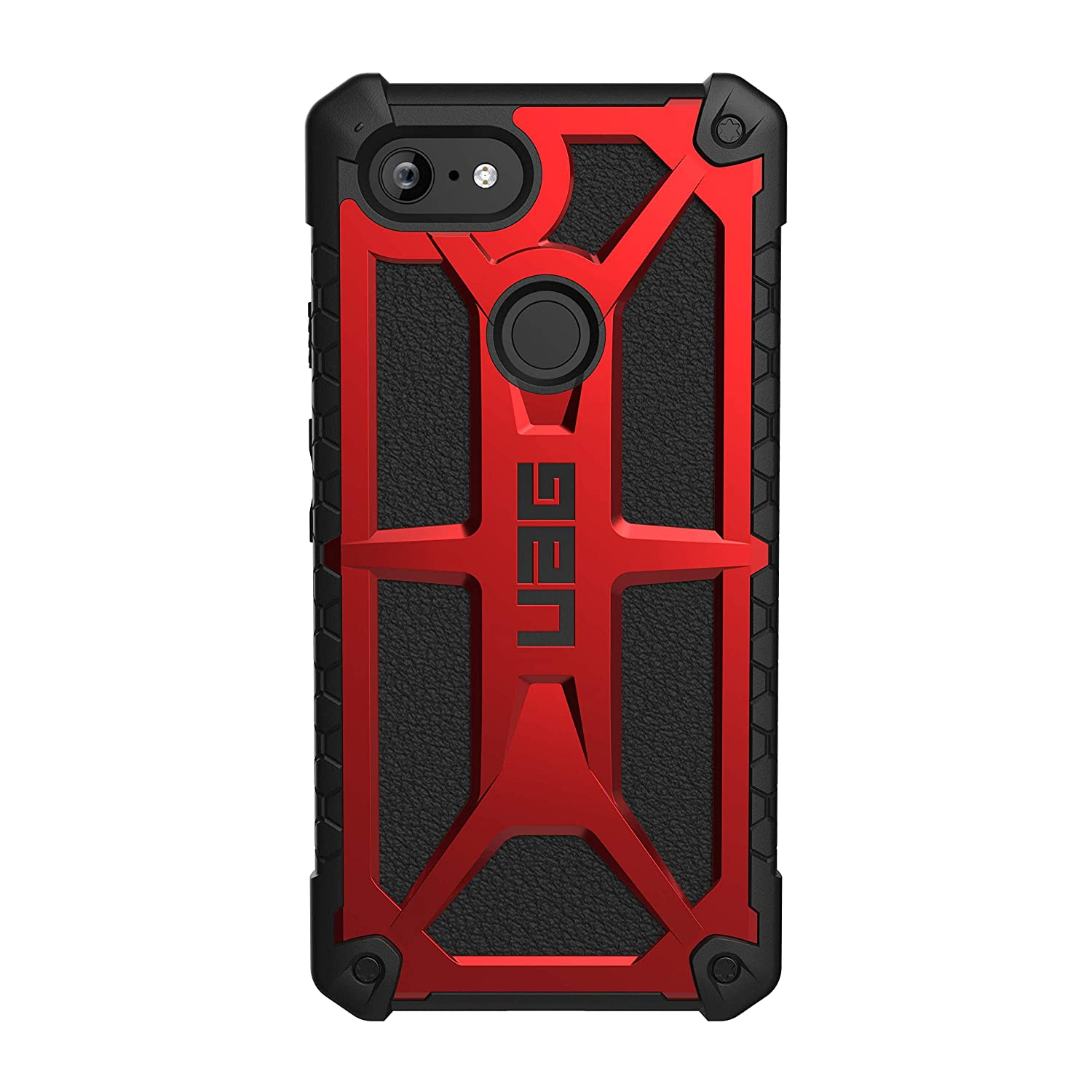 info for 9ee71 337e2 URBAN ARMOR GEAR UAG Google Pixel 3 XL [6.3-inch Screen] Monarch  Feather-Light Rugged [Crimson] Military Drop Tested Case