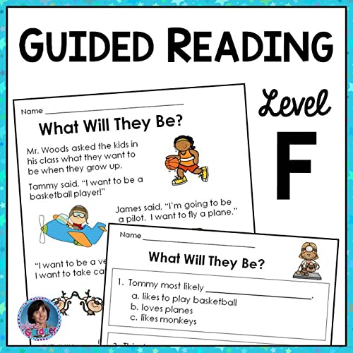 This Reading Comprehension Packet Is Designed To Help Kids Work Toward The  Goals Of Carefully Reading Level F Text And Thoughtfully Answering  Comprehension Questions. Each Page Is Presented Both In Color And In An Ink  Saving Black And White Version