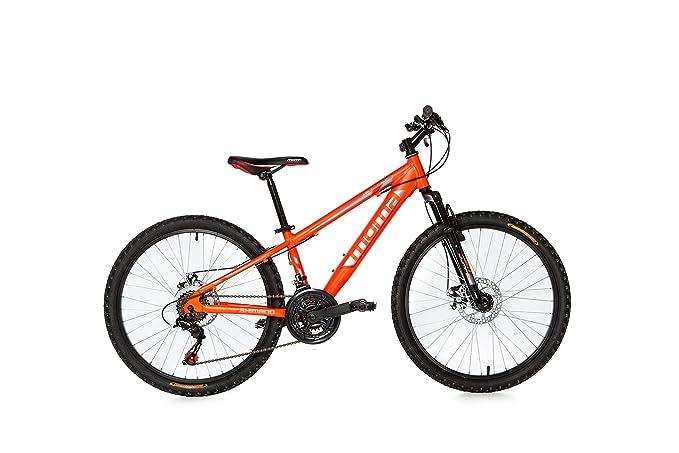 16 opinioni per Moma Bikes, Bicicletta Mountainbike 24BTT SHIMANO, Alluminio, doppio disco e