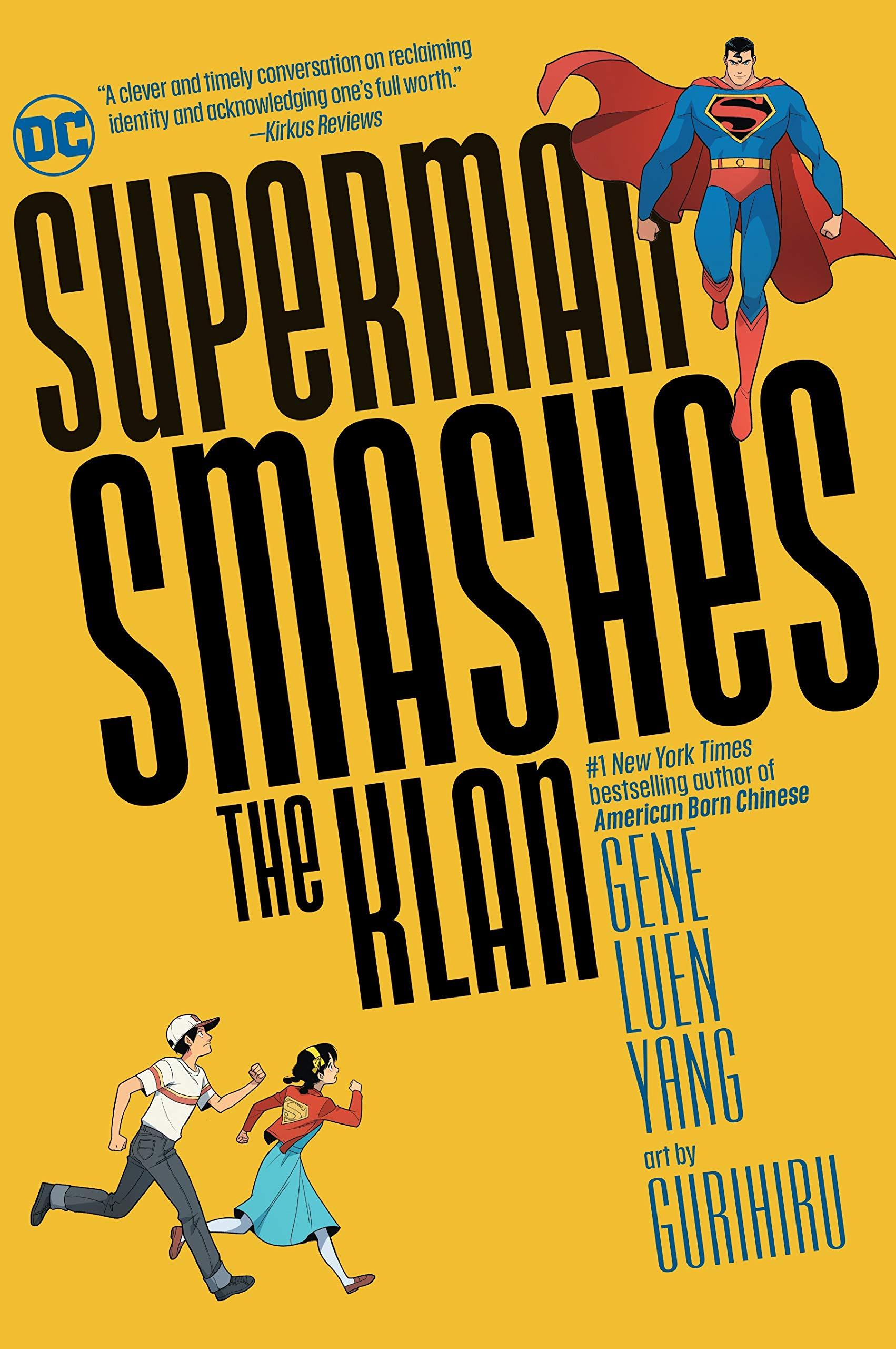 Amazon.com: Superman Smashes the Klan (9781779504210): Yang, Gene Luen, Gurihiru: Books