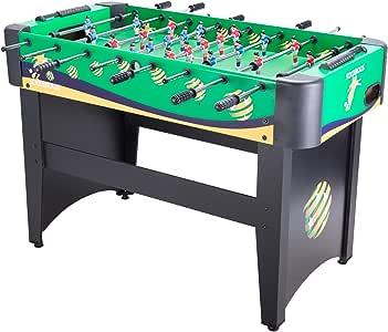 CO-Z Mesa del Fútbol Juego de Mesa Divertido Futbolines Juegos de Mesa y Recreativos Futbolín para Adultos/ Niños 122cm / 48 MDF (Verde): Amazon.es: Juguetes y juegos
