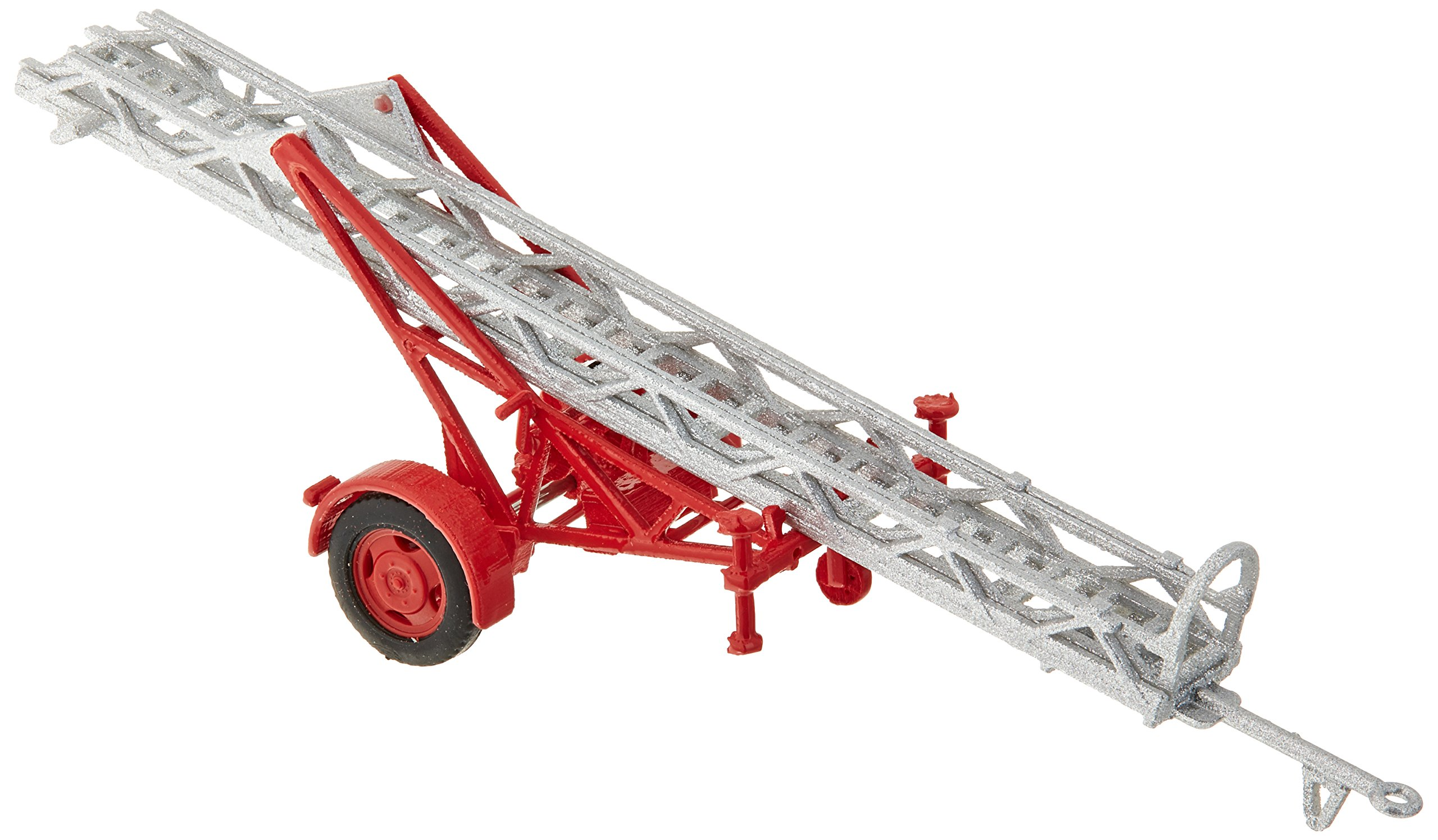 Busch 59939 Fire Ladder Trailer AL12 HO Scale Model Vehicle