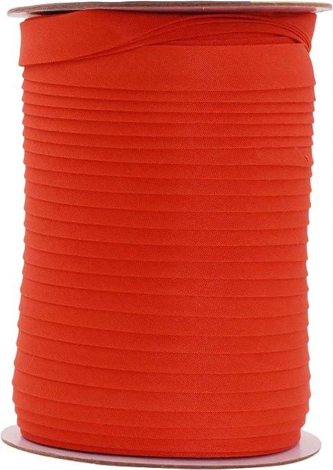 Orange Bias Binding Tape 25mm 1 Inch Double Fold Bias from 1m Meter
