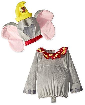 eeae594376c3 Amazon.com  Disney Baby Dumbo Infant Costume  Clothing