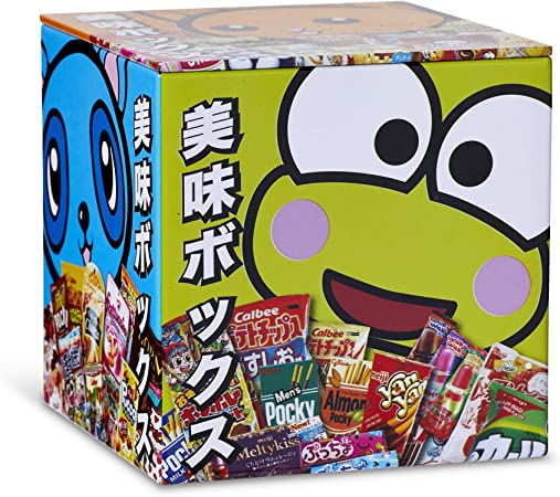 Dagashi Anime Otaku Japanese Snacks 4 x 4 Inch Tin Storage Box: Amazon.es: Juguetes y juegos