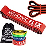 Epitomie Fitness Bionic Flex Pull Up Assistance Band - Premium Dual Layer Pull Up Assist Bands for Strength Training…