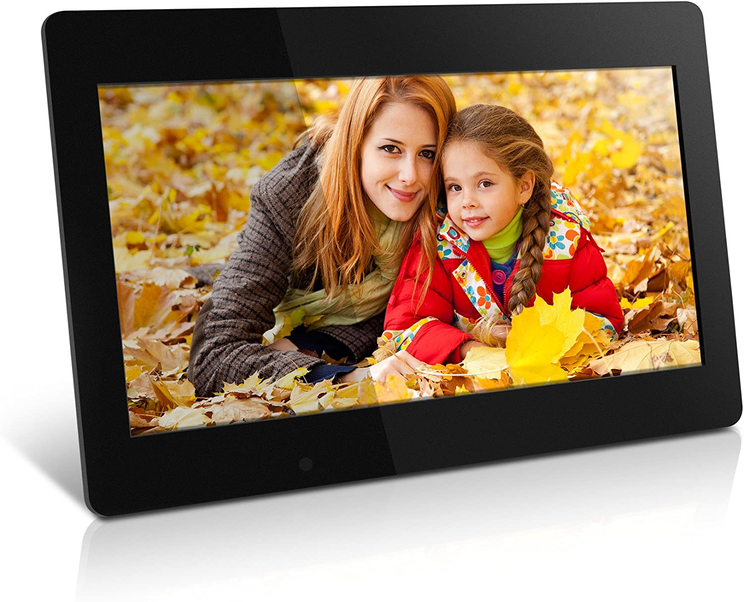 Color : Black, Size : 460x280x35mm Lorachun Digital Photo Frame Electronic Photo Frame Support 18.5 Inch 1080P HDMI