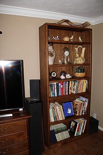 oak bookshelf bedroom furniture bookcase Oak bookcase living room furniture bookshelf