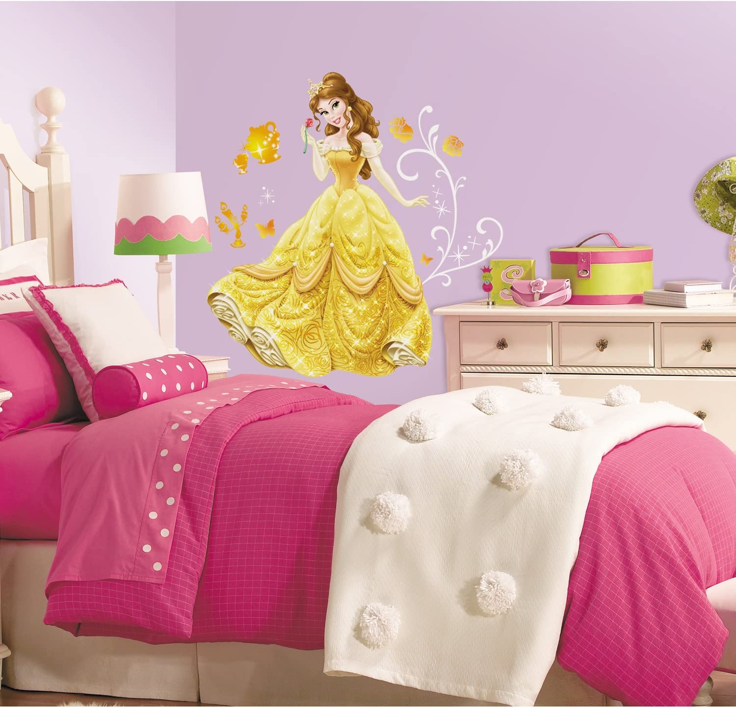 RoomMates Disney Princess - Belle Peel And Stick Giant Wall Decals