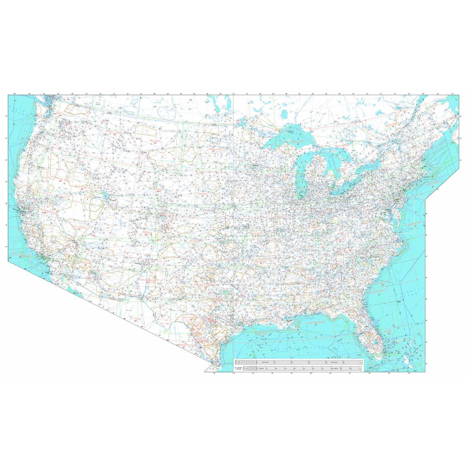 FAA Chart: U.S. IFR/VFR Low Altitude Planning Chart (FLAT)