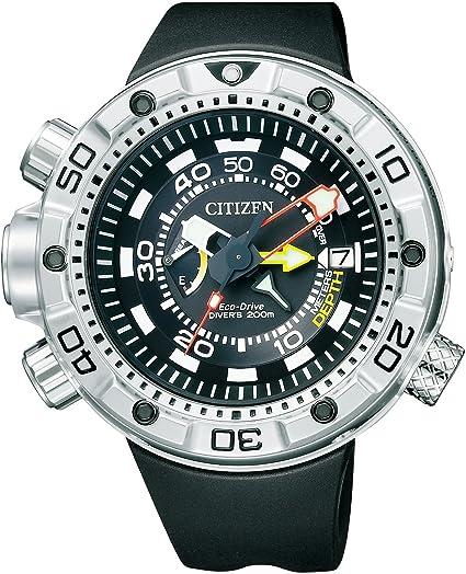 Reloj Citizen PROMASTER Eco-Drive de Aqualand 200 m-Diver bn2021 - 03E Hombres de: Amazon.es: Relojes
