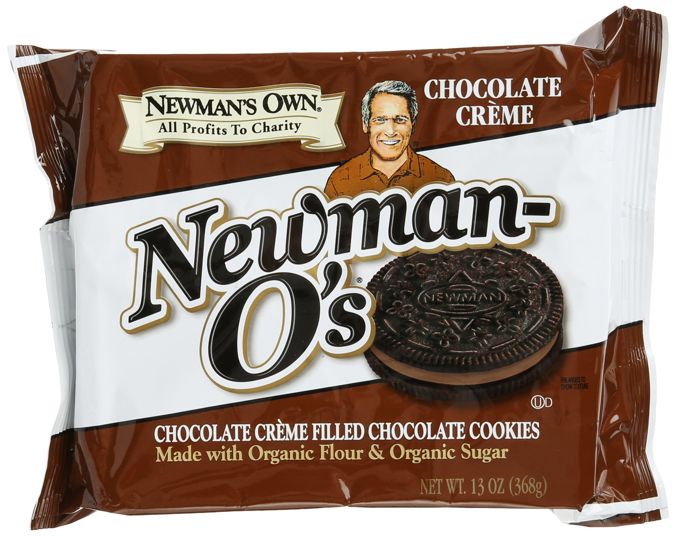 Newman's Own Chocolate Newman-O's, 13 oz by Newman's Own