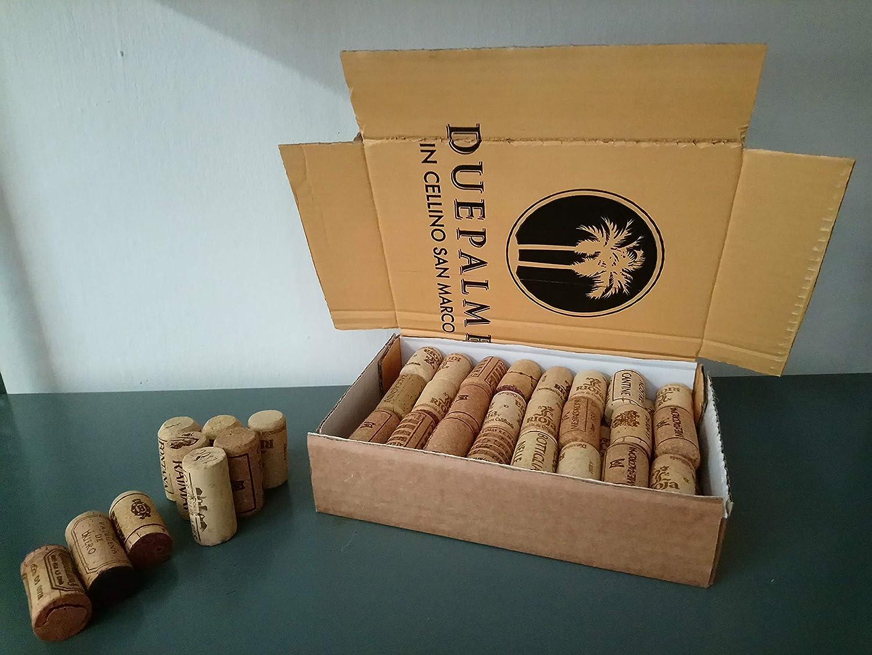 Indeedshare 100 pièces bouchons de vin bouchons de liège droit premium 44cm x 22cm