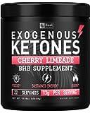 Pure Exogenous Ketones BHB Powder (13g | 22 Servings) Best Tasting Keto Drink with goBHB® Salts Beta Hydroxybutyrate…