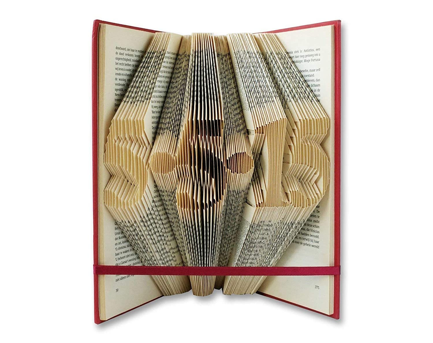 Save the Date customised by Folded Book Art - Free temporary upgrade to EXPEDITED shipping