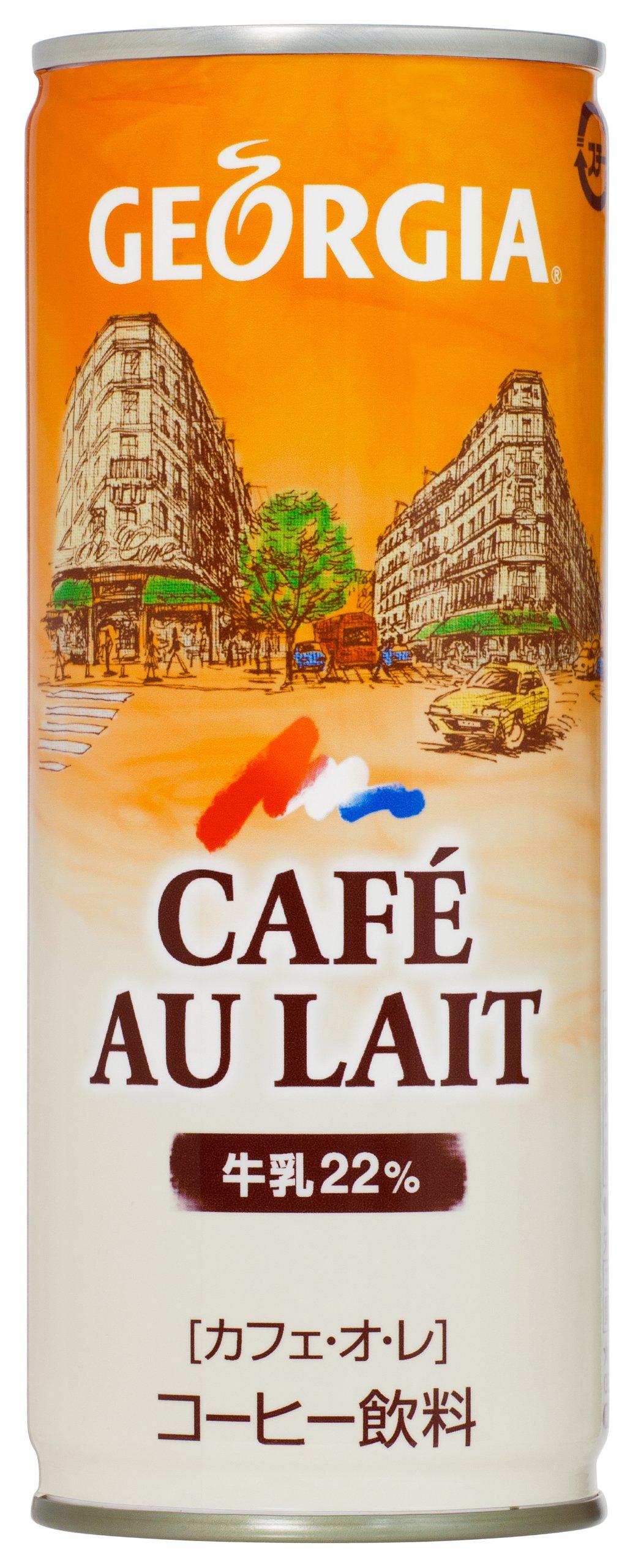 Georgia Coffee - Café Au Lait (Canned Japanese Coffee) 30 Can Box