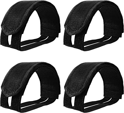 2 Road//Mountain Bike Pedal Replacement Cycle Toe Straps Nylon Security Fit HP
