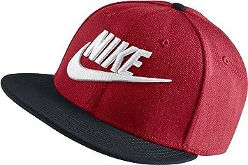 Nike Unisex Futura True Caps - University Red black black white c06b26b59