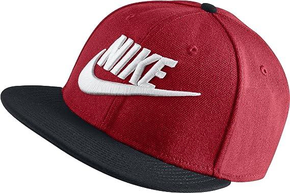 new style e4559 e1974 Image Unavailable. Image not available for. Colour  Nike Unisex Futura True  2 Adjustable Snapback Hat University Red Black ...