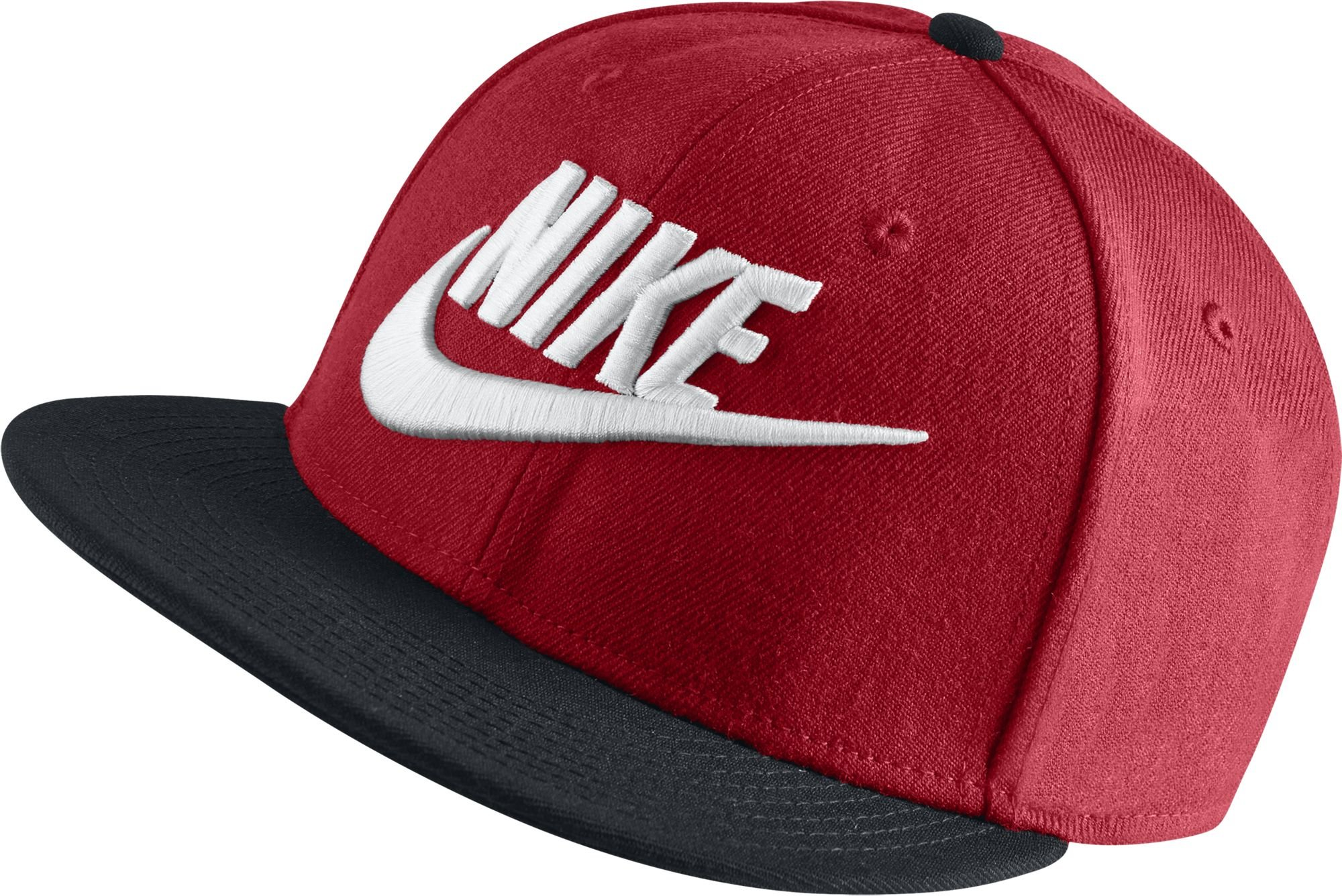 e0d3d0792687 Galleon - Nike Mens Futura True 2 Adjustable Snapback Hat University  Red Black 584169-659
