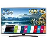 LG 55V型 4K 液晶テレビ HDR対応 IPS4Kパネル スリムボディ Wi-Fi内蔵 UJ630Aシリーズ 55UJ630A