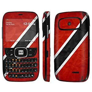 [ZTE Altair 2 Z432] Skin [NakedShield] Scratch Guard Vinyl Skin Decal [Full Body Edge] [Matching WallPaper] - [Trinidad and Tobago Flag] for AT&T GoPhone ZTE Z432 [Altair 2]