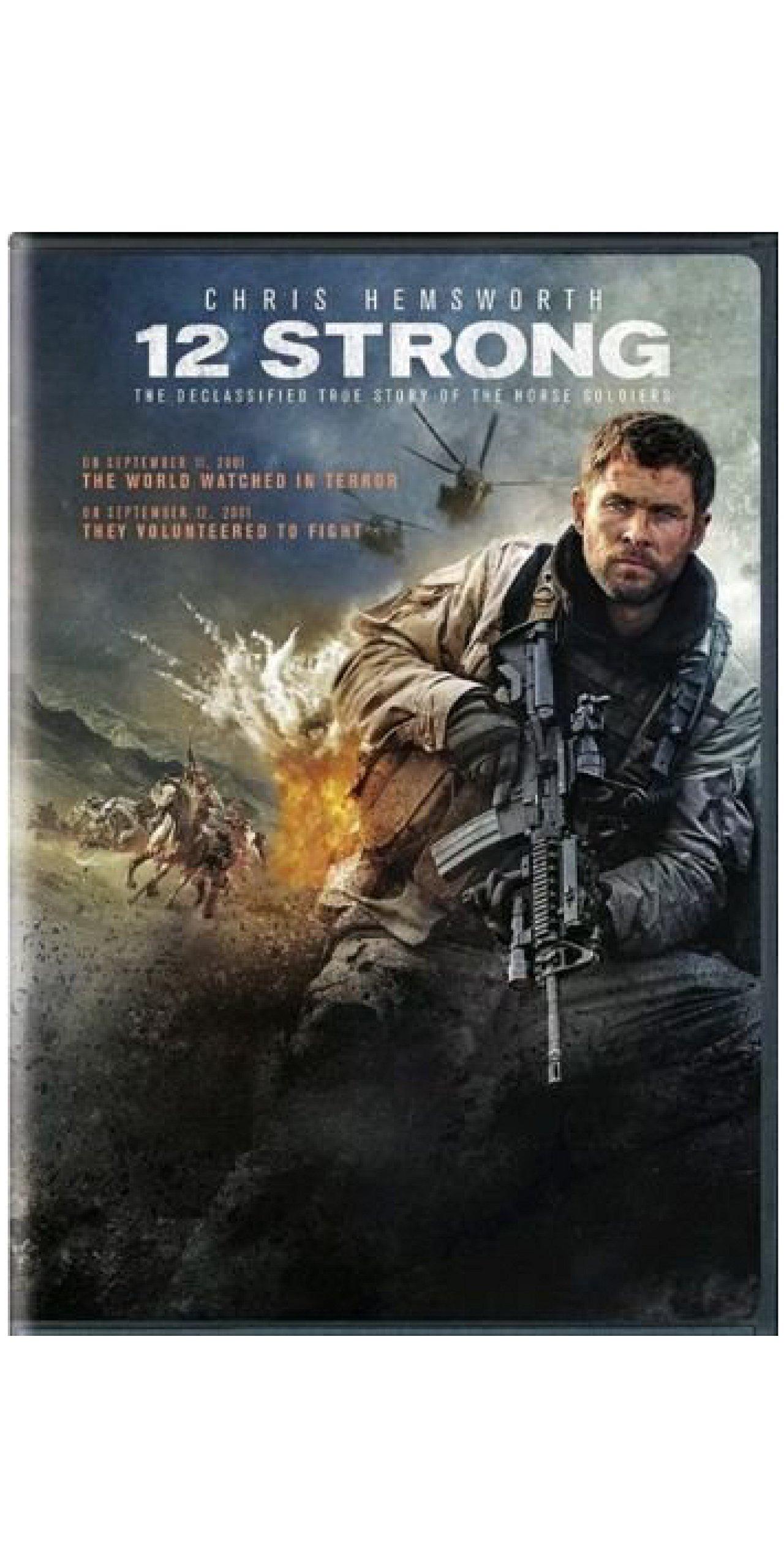 12 Strong (DVD,2018) War Drama