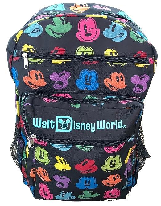 Multi Color de Walt Disney World Mickey Mouse Mochila: Amazon.es: Ropa y accesorios