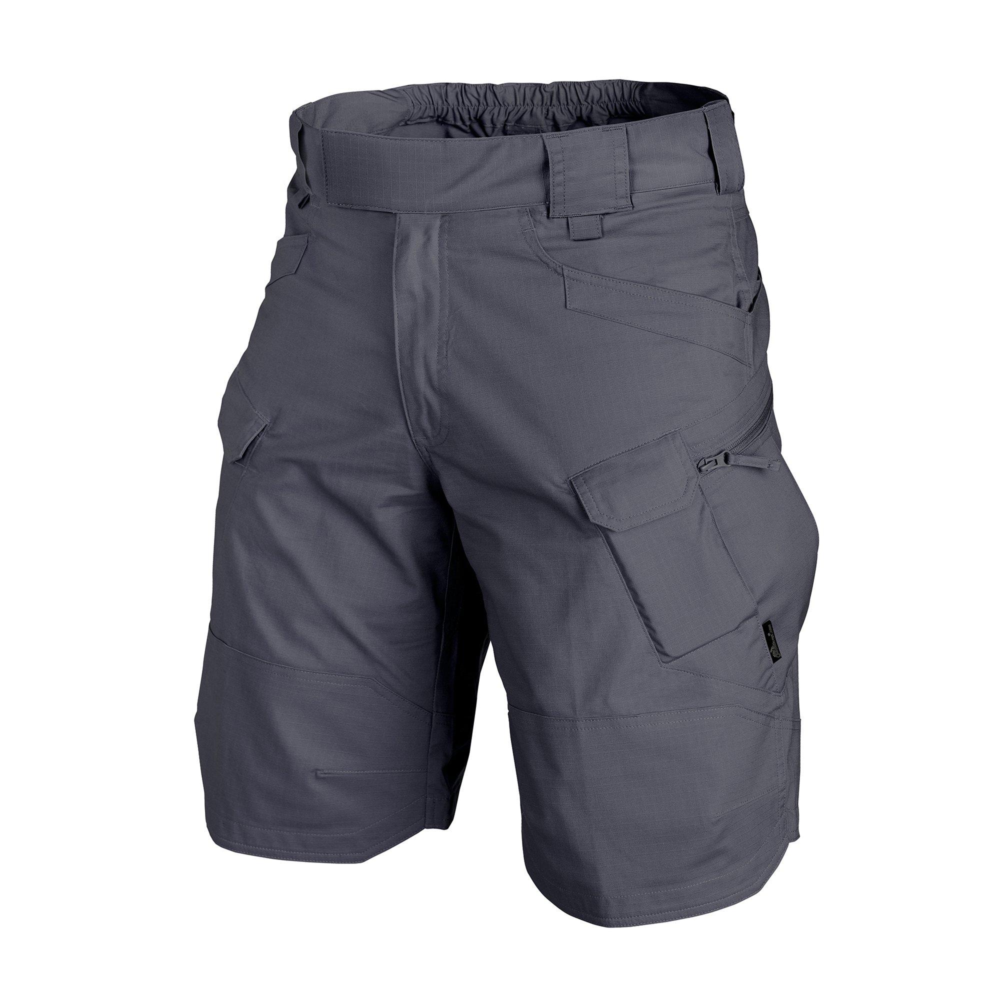 HELIKON-TEX Urban Line, UTS Urban Tactical Shorts 11'' Polycotton Ripstop Shadow Grey Waist 38
