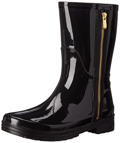 Amazon.com | Unlisted Women's Zipper Rain Boot | Mid-Calf