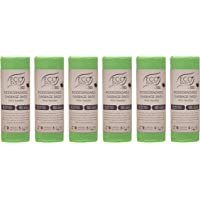 Biodegradable & Compostable Bin Bag Liners 50L (6 Rolls)